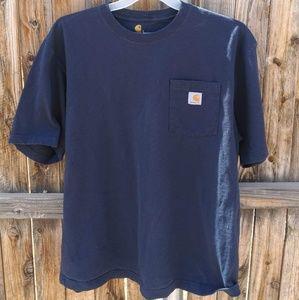 Carhartt Pocket T shirt Dark Blue XL